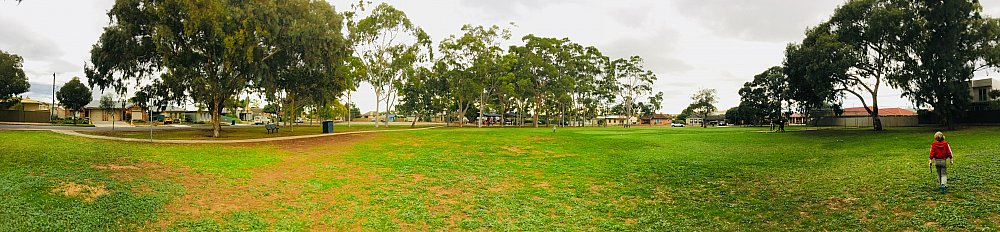 Sandery Avenue Reserve Panoramic Grass Kick About