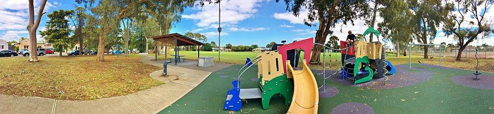 Glandore Oval Playground Panorama 1