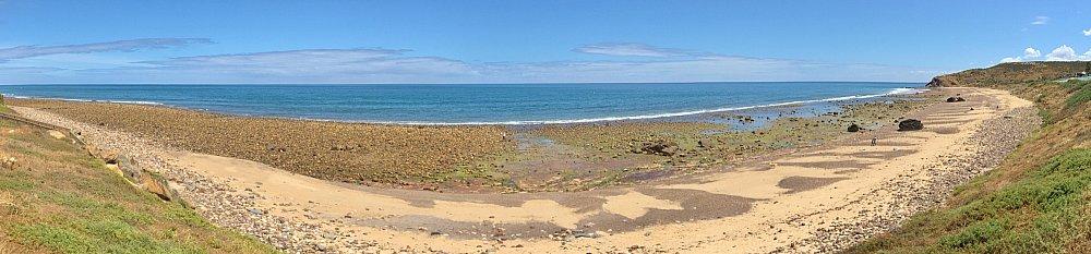 Heron Way Reserve Beach Panorama 4