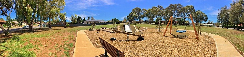 Clare Avenue Reserve Panorama 2