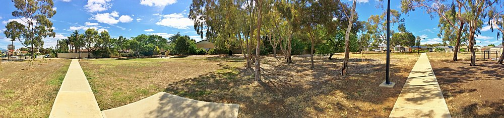 Myer Road Reserve Panorama 1