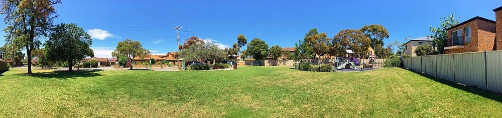 Audrey Street Reserve Panorama 1