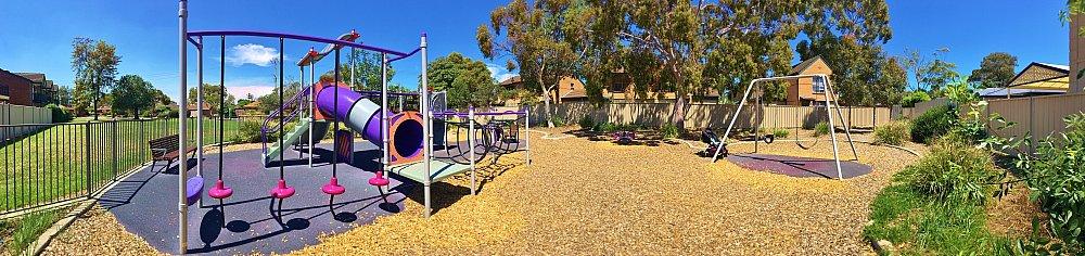 Audrey Street Reserve Panorama Playground 2
