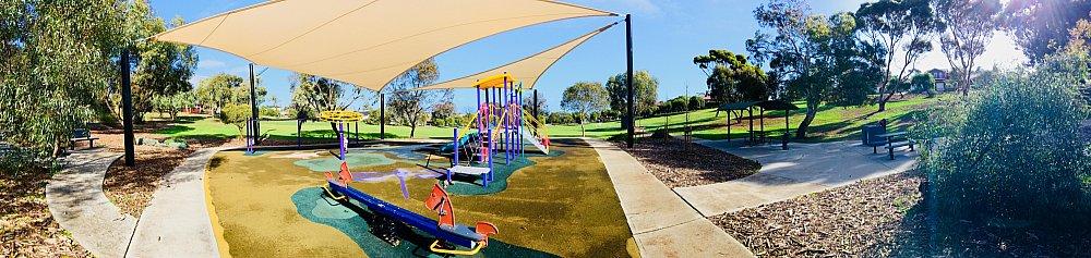 Pavana Reserve Playground Panorama 1