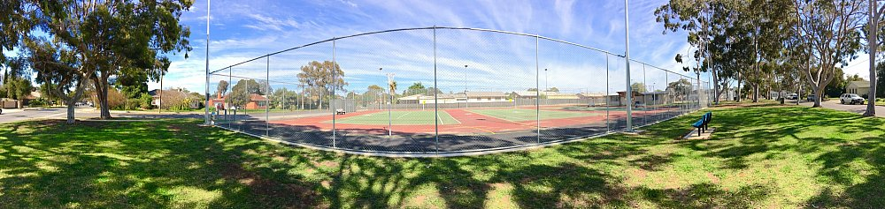 Woodforde Family Reserve Courts Panoramic 1