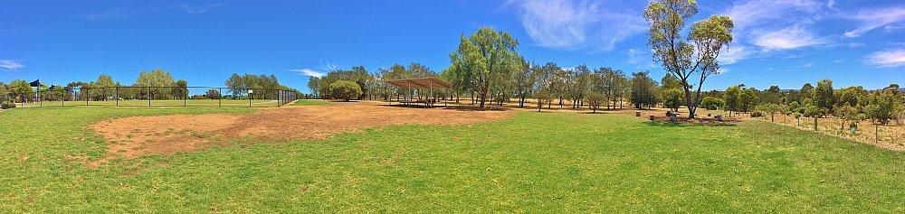 Reserve Street Reserve Dog Park Panorama 1