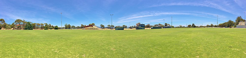 The Cove Sports Western Field Panorama 2