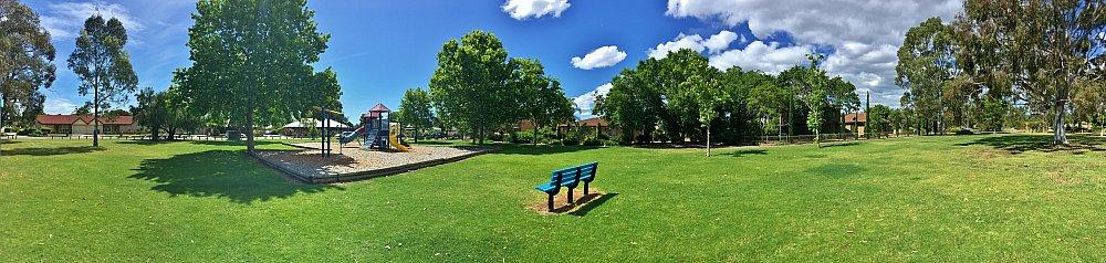 Trowbridge Avenue Reserve Panorma 1