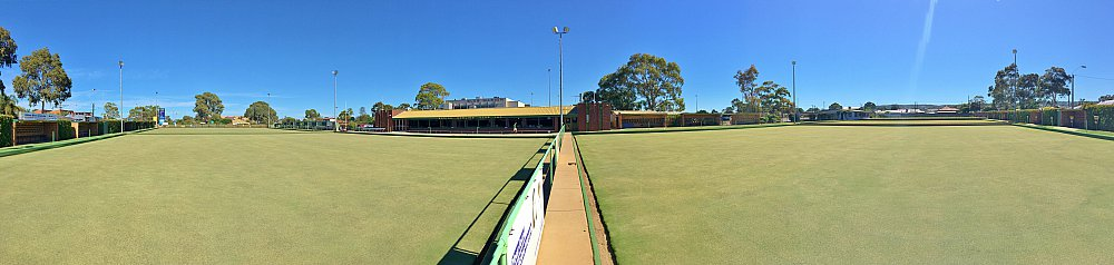 Marion Oval Lawn Bowls Panorama 2