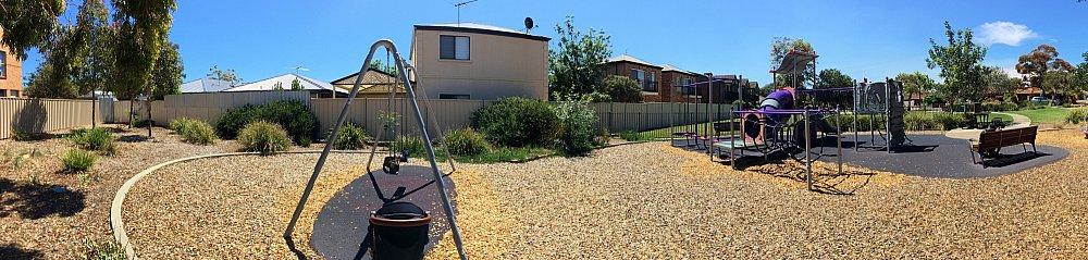 Audrey Street Reserve Panorama Playground 1