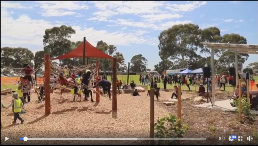 Mitchell Park Oval Reserve Upgrade opening video image