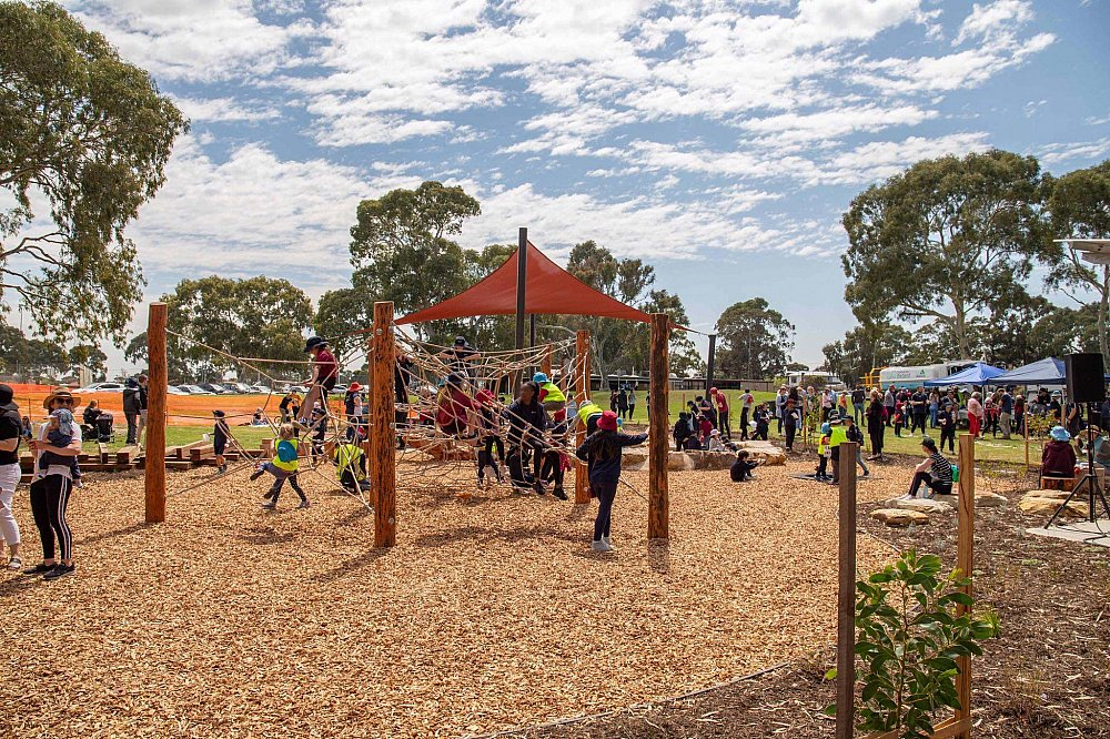 Mitchell Park Oval Playground 2