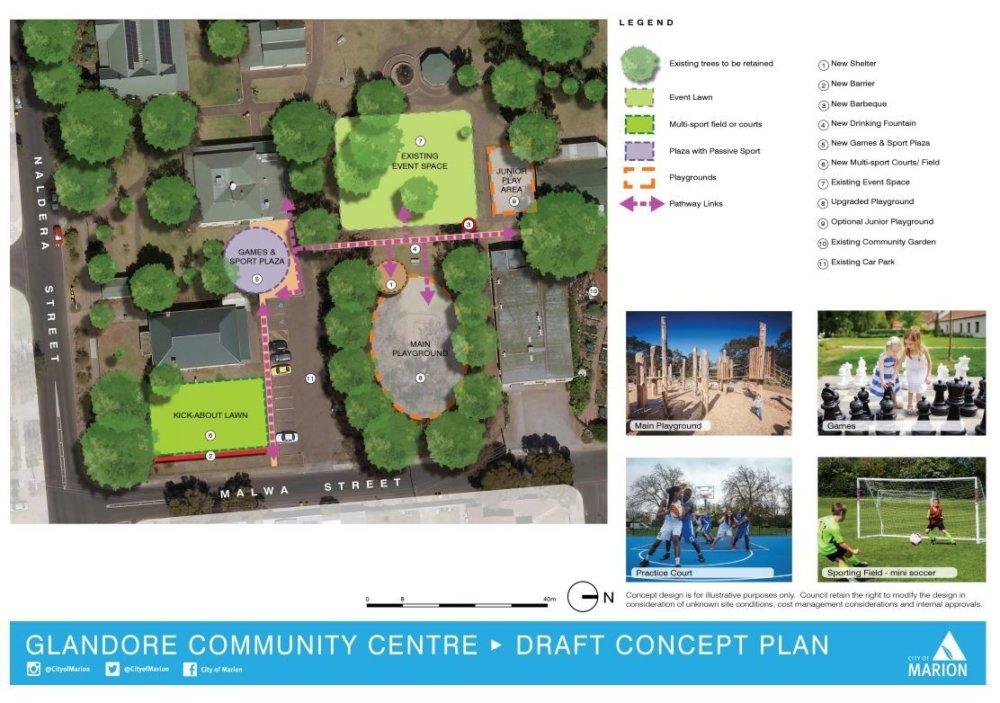 Glandore Community Centre Draft Concept Plan web image