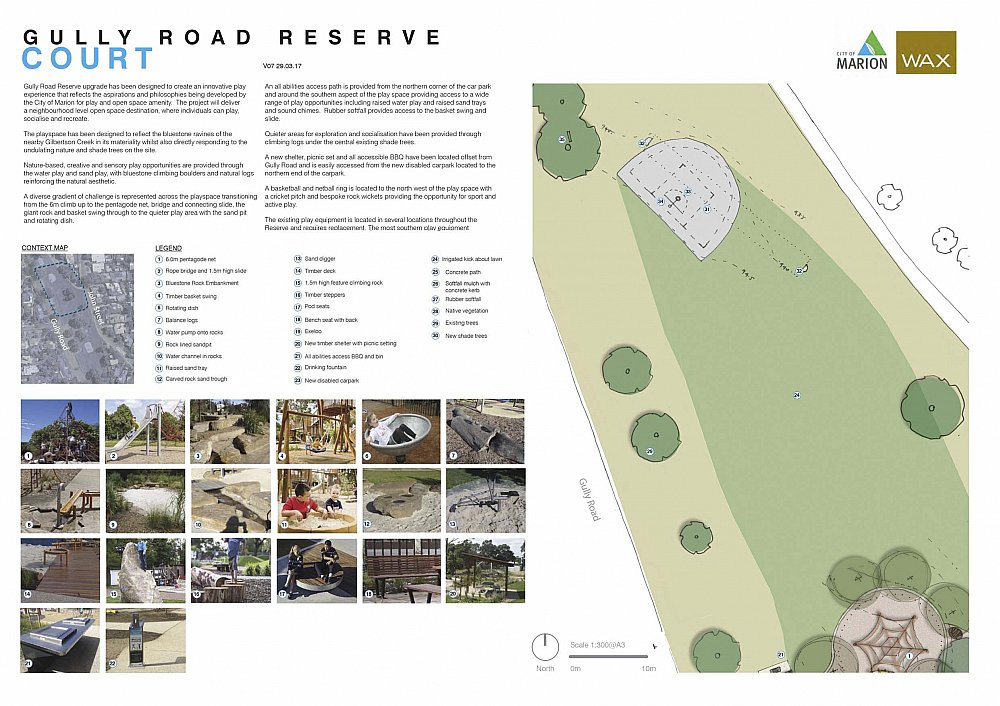 Gully Road North Reserve Detailed Design Court