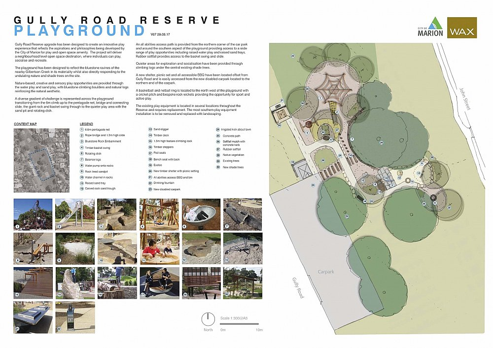 Gully Road North Reserve Detailed Design Playground