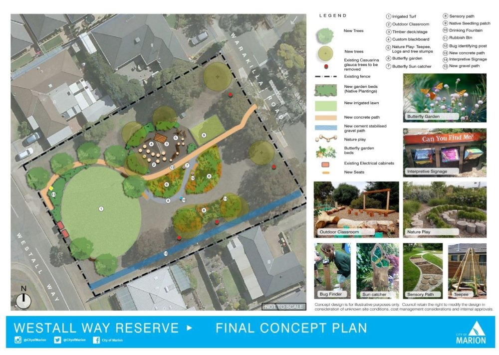 Westall Way Final concept plan image
