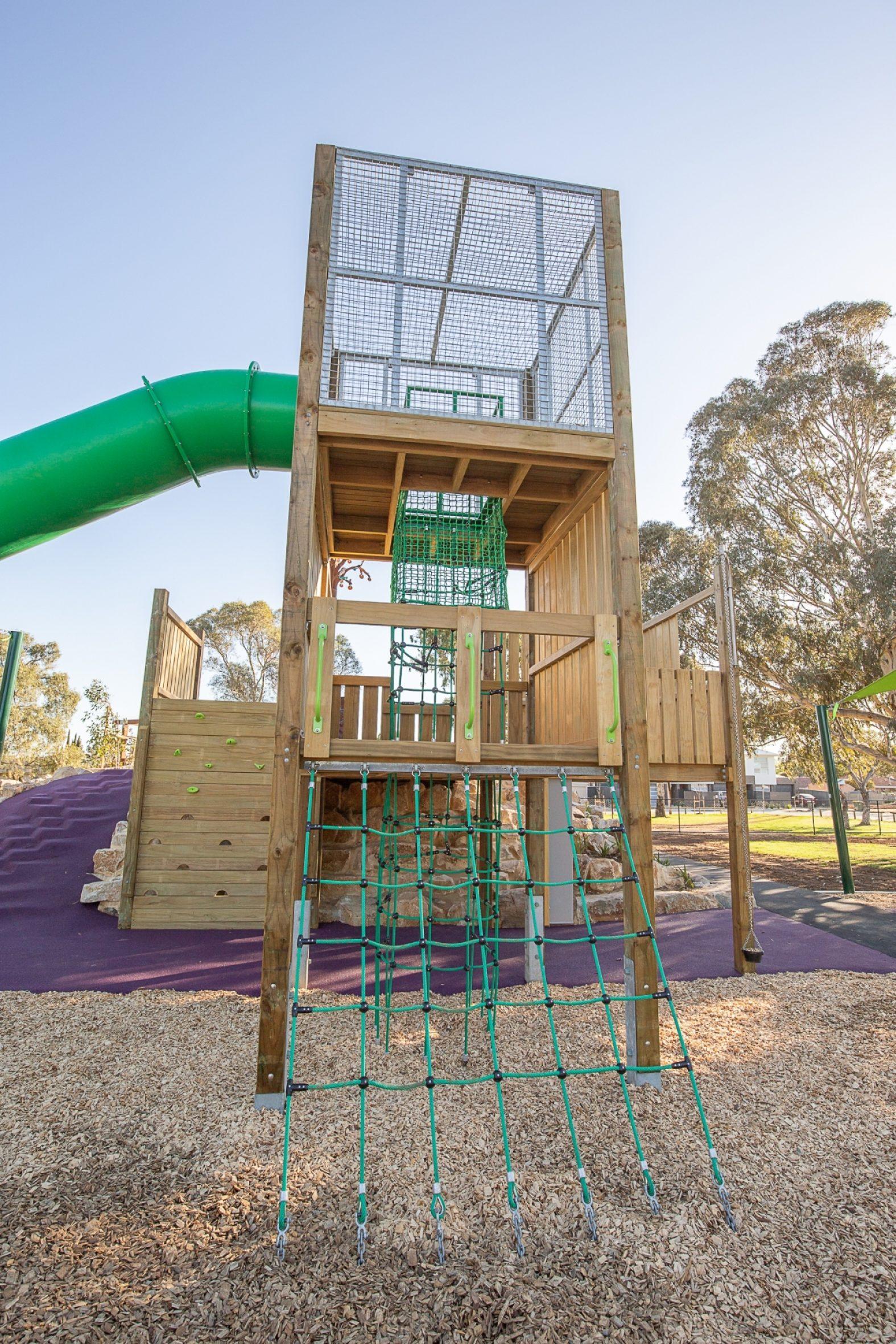 Hendrie Street Reserve Inclusive Playground Hendrie