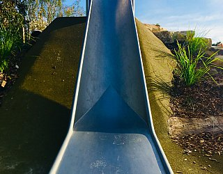 Sixth Avenue Reserve Slide Bottom