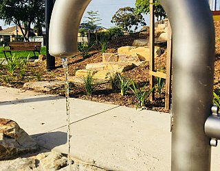 Sixth Avenue Reserve Water Play Tap