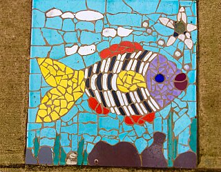 Dumbarton Avenue Reserve Public Art Fish