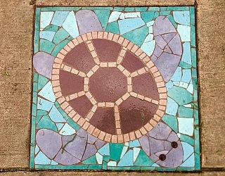 Dumbarton Avenue Reserve Public Art Turtle