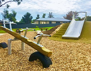 Clare Avenue Reserve Seesaw Slide