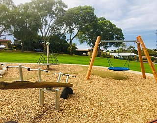 Clare Avenue Reserve Seesaw Basket Swing Rotanet