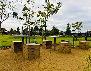 Jervois Street Reserve Games Board Tables