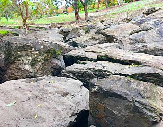 Hugh Johnson Boulevard Reserve Climbing Rocks2