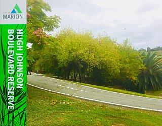 Hugh Johnson Boulevard Reserve Reserve Sign 2