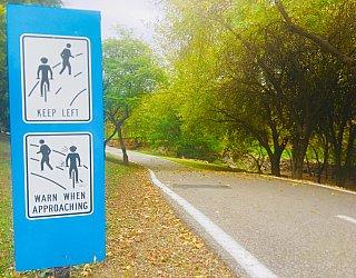Hugh Johnson Boulevard Reserve Path Signage