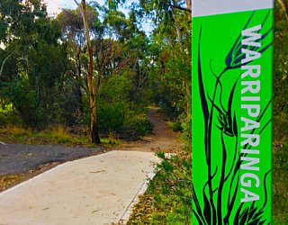 Warriparingga Wetlands Path Sign 1