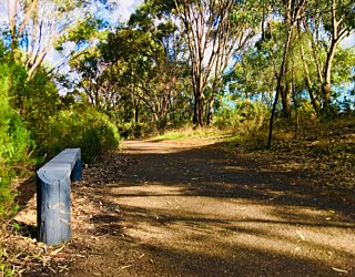 Warriparingga Wetlands Path Seat