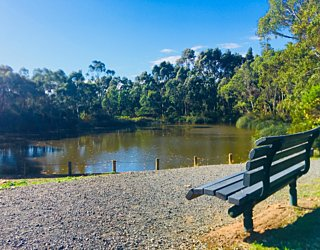 Warriparingga Wetlands Seat
