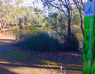 Warriparingga Wetlands Wetlands Sign 3