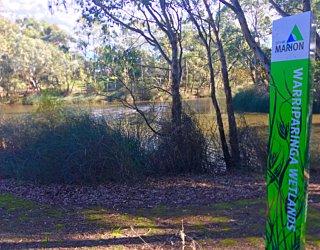 Warriparingga Wetlands Wetlands Sign 2