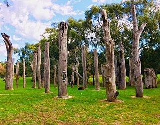 Warriparingga Wetlands Sculpture 1