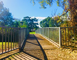 Warriparingga Wetlands Bridge