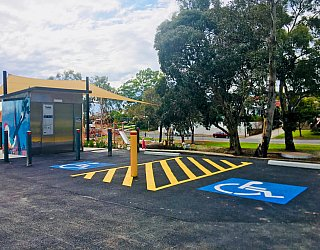Gully Road North Reserve Disabled Parking