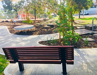 Gully Road North Reserve Seating 1