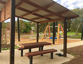 Gully Road North Reserve Shelter 1