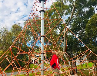 Gully Road North Reserve Climbing Net 2 Xb