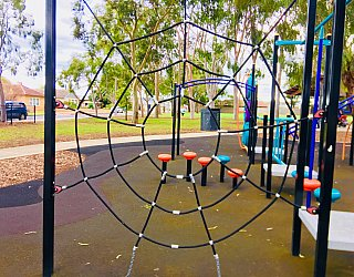 Sandery Avenue Reserve Spider Net 1
