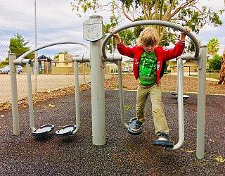 Sandery Avenue Reserve Fitness 5 Air Walk Xb