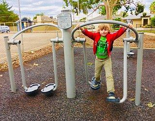 Sandery Avenue Reserve Fitness 4 Air Walk Xb