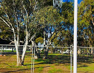 Appleby Road Reserve Construction Netball 1