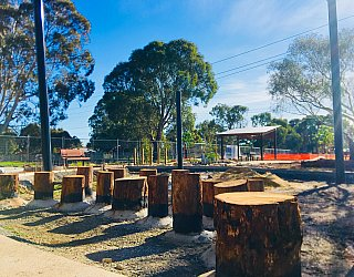 Appleby Road Reserve Construction Stepping Logs