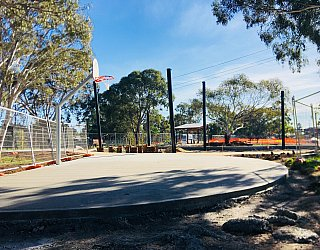 Appleby Road Reserve Construction Basketball 5