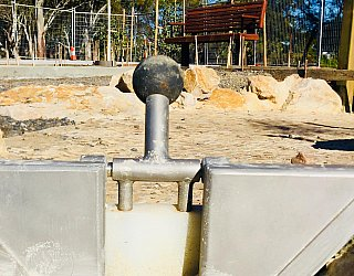 Appleby Road Reserve Construction Water Play 1
