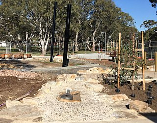 Appleby Road Reserve Construction Water Play